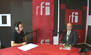 in studioul RFI